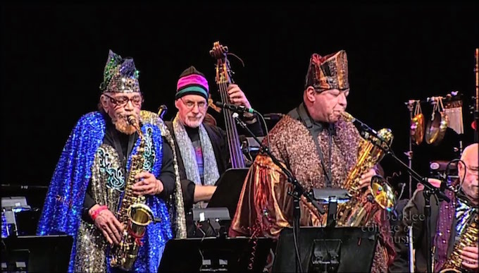 Sun Ra Arkestra performs at SFJAZZ Summer Sessions