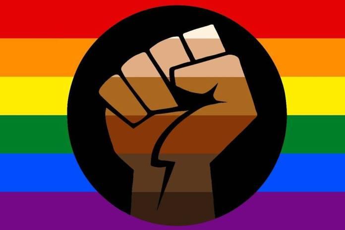 POC Pride flag designed by Yoshi.