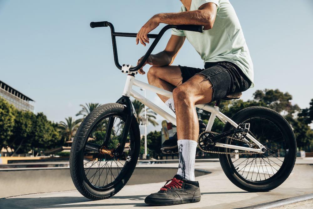 Entrenamiento en las instalaciones deportivas del circuito BMX