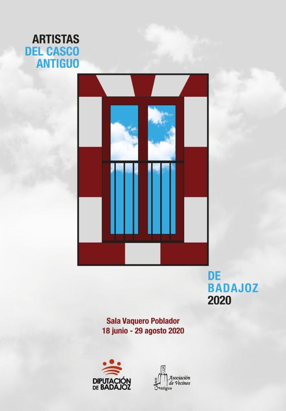 Exposición de 'Artistas del Casco Antiguo de Badajoz 2020'