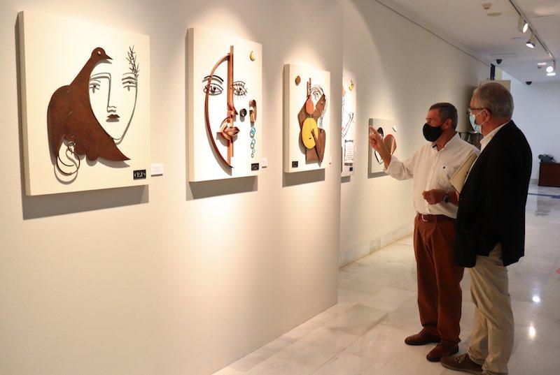 Exposición 'Forjando sentimientos de Manuel Sánchez