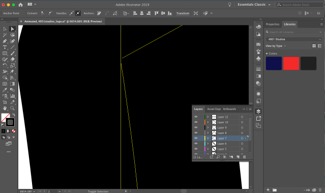 Image points are not closed in Illustrator.