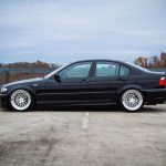 Jet Black Bmw E46 3 Series Ccw D15 Deep Dish Forged Wheels Ccw Wheels