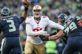 November 22, 2015: The San Francisco 49ers vs Seattle Seahawks. The 49ers lose to the Seahawks 29-13 at CenturyLink Field in Seattle, WA. (Photo © 49ers Photo)