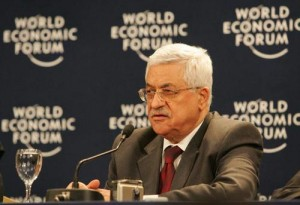 The Palestinian Authority, headed by President Mahmoud Abbas, launched a television channel that will broadcast in Israel via satellite. Photo: World Economic Forum.