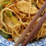Chicken Chow Mein, Chow Mein au Poulet
