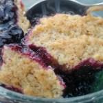 Berry Cobbler, Cobbler de Fruits Rouges