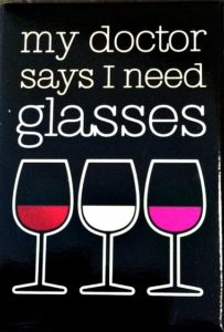 need more glasses of wine