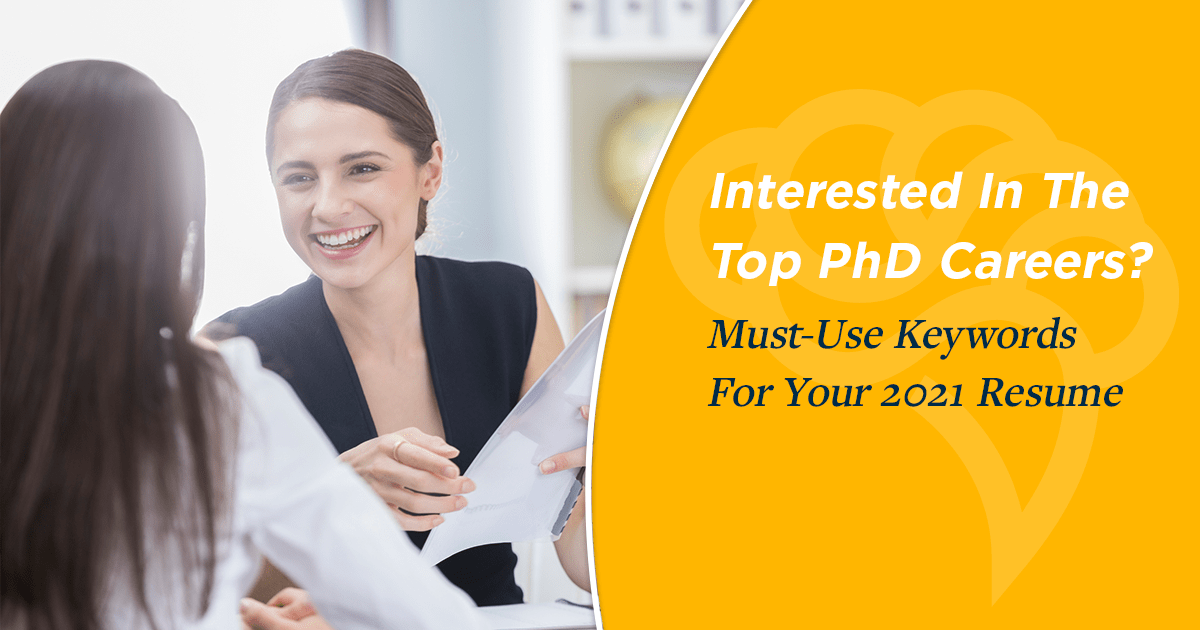How to word resumes for salespersons. Land The Top Phd Jobs Add These Keywords To Your 2021 Resume
