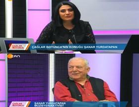'Çağlar Boyunca'da Müzisyen Sayın Şanar Yurdatapan'la Müziğe Yolculuk..