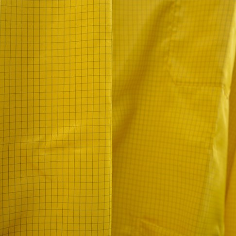 Yellow Cleanroom Frock Material
