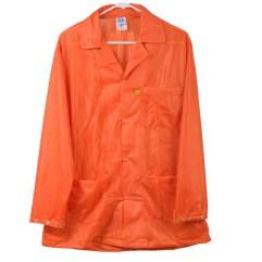 Orange Lightweight Plus ESD Jacket