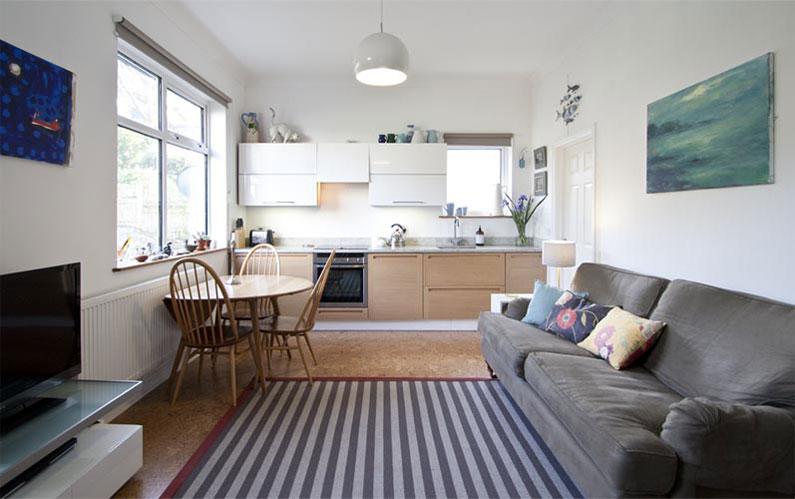 Small Open Plan Kitchen Ideas Part - 41: 20 Best Small Open Plan Kitchen Living Room Design Ideas