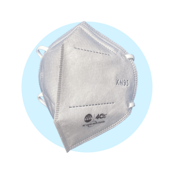 4C Air Medium KN95 BreSafe Nano Face Mask