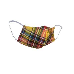 Pattern Cloth Face Mask with Flexible Ear Loops