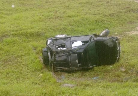 Ex-deputado sofre acidente de carro no Agreste de Alagoas Cortesia