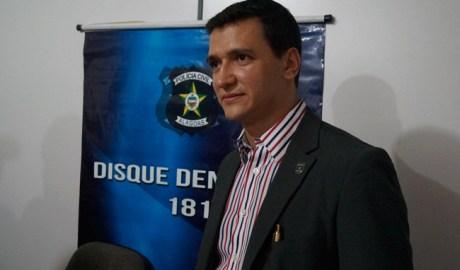 Delegado Ronilson Medeiros que comandou a ação (Foto:Ascom-PC)