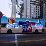 Hotel Transylvania 3 bus in Los Angeles California