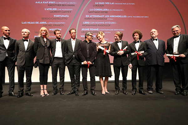 The Jury and the winners of Un Certain Regard 2017© Christophe Bouillon - FDC Cannes Film Festival 4Chion Lifestyle