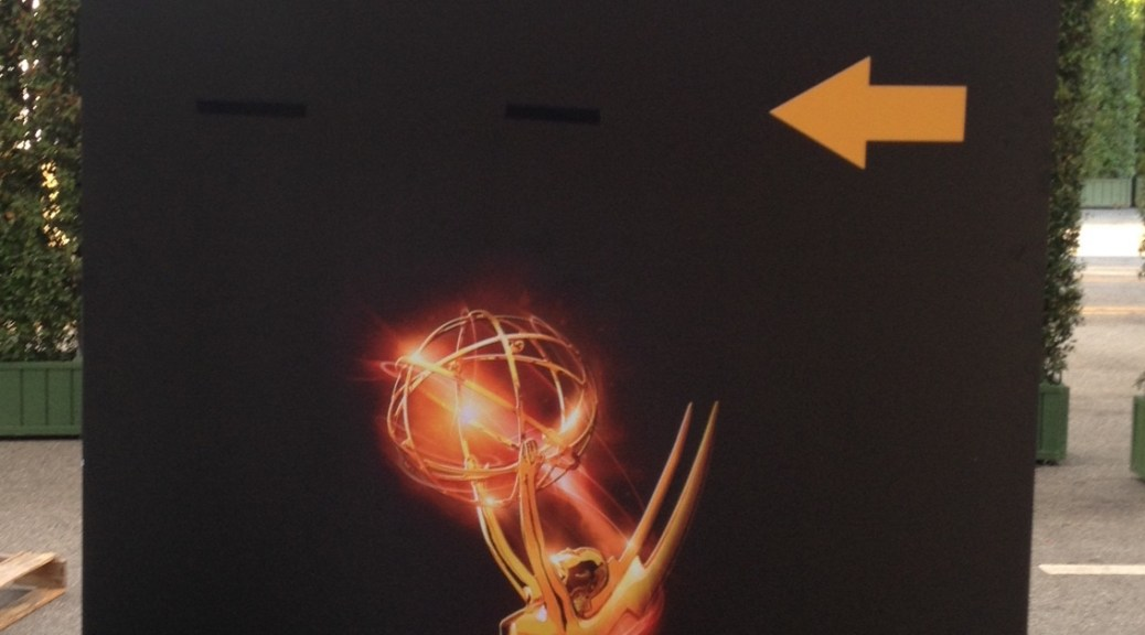 red carpet sign emmys 2016 4chion marketing