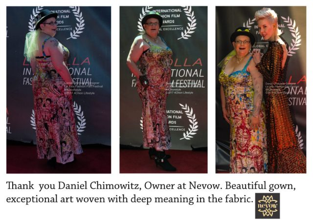 Daniel Chimowitz LJFFF Red Carpet Gown 4Chion Lifestyel Nevow