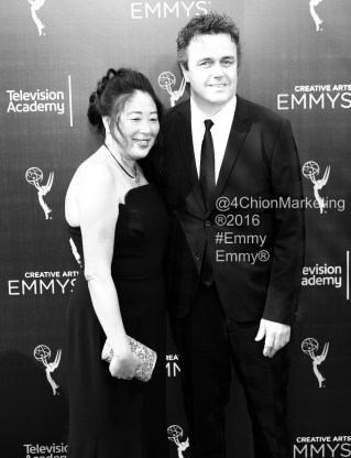Sean Callery red carpet Emmys® Creative Arts Awards 4Chion Lifestyle