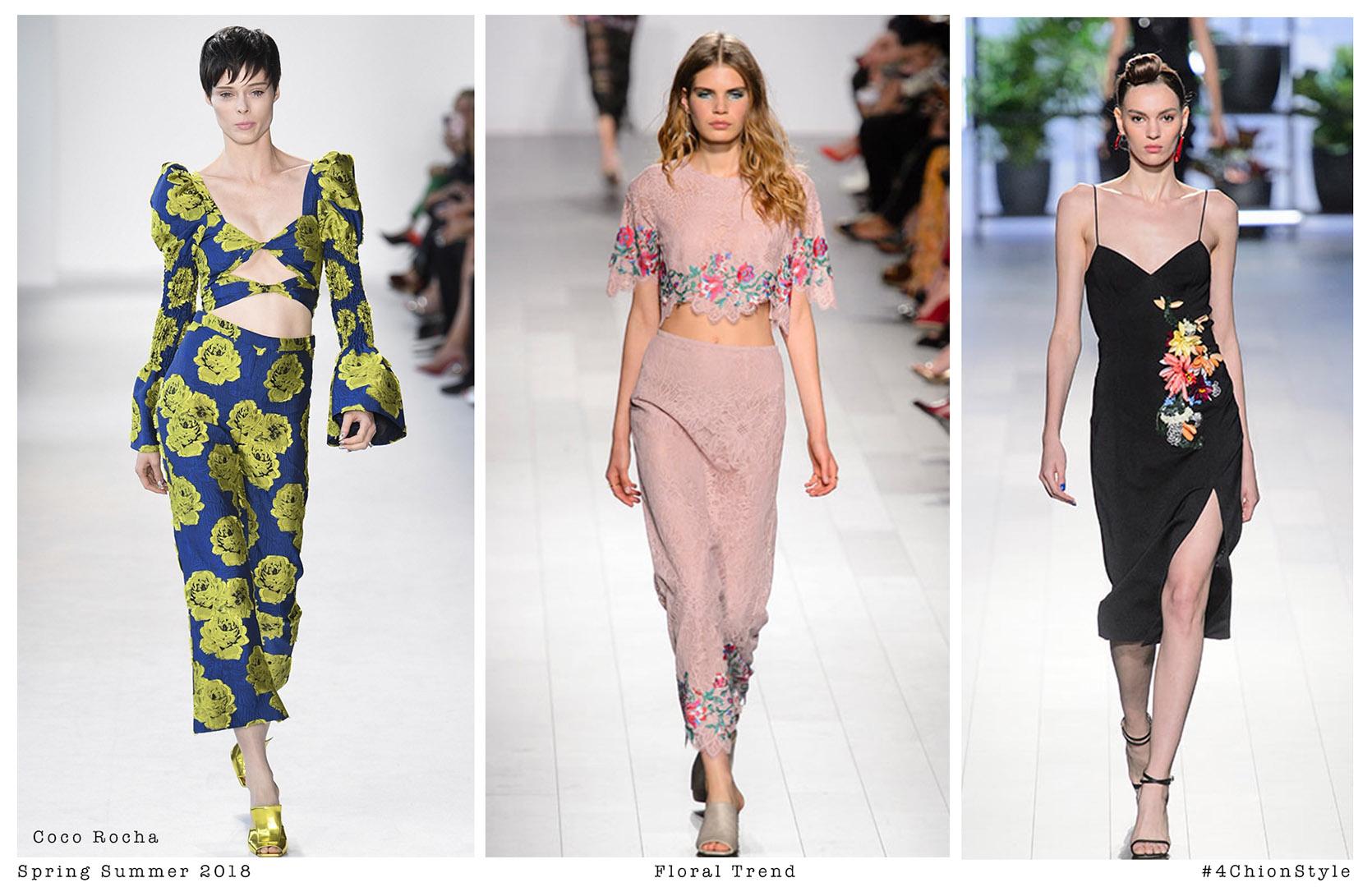 Dress trends spring summer 2018