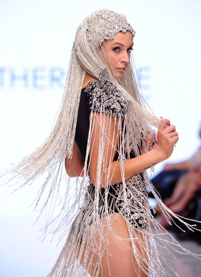 Rocky Gathercole At Los Angeles Fashion Week SS18 Art Hearts Fashion LAFW