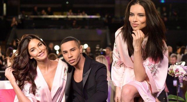 fashion-show-hair-makeup-2017-lily-adraina-balmain-oliver-rousteing-victorias-secret 4chion lifestyle