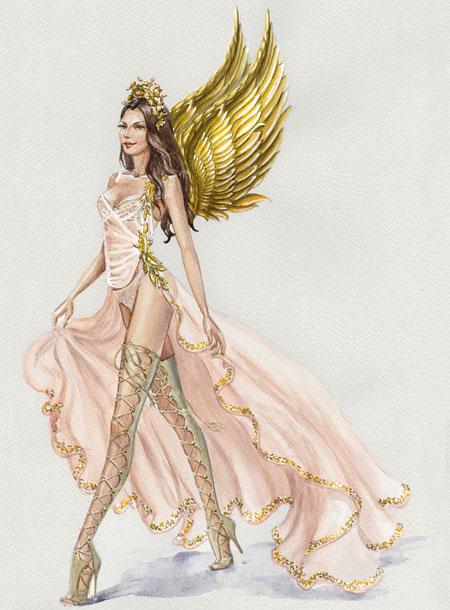 fashion-show-look-of-show-2017-goddesses-victorias-secret 4chion lifestyle