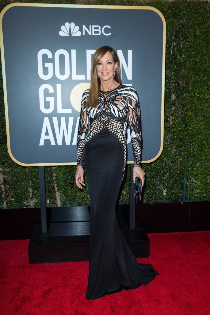 Allison Janney attends the 75th Annual Golden Globes Awards 4chion lifestyle