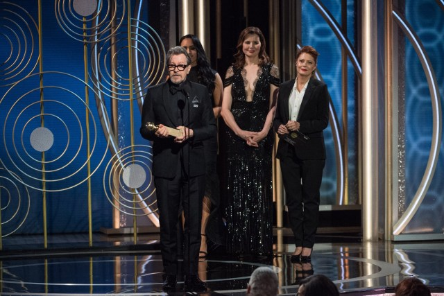 Actor Gary Oldman accepts the Golden Globe Award 4chion lifestyle