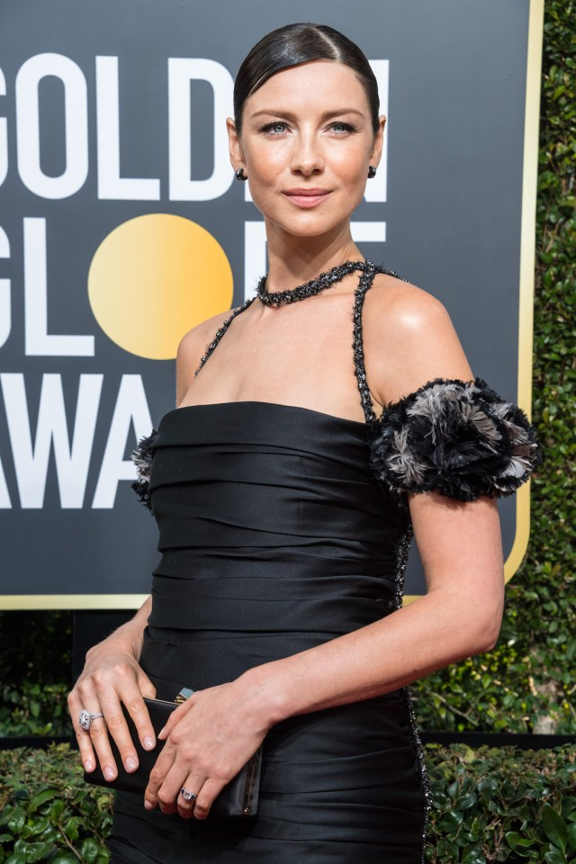Caitriona Balfe attends the 75th Annual Golden Globes Awards 4chion lifestyle