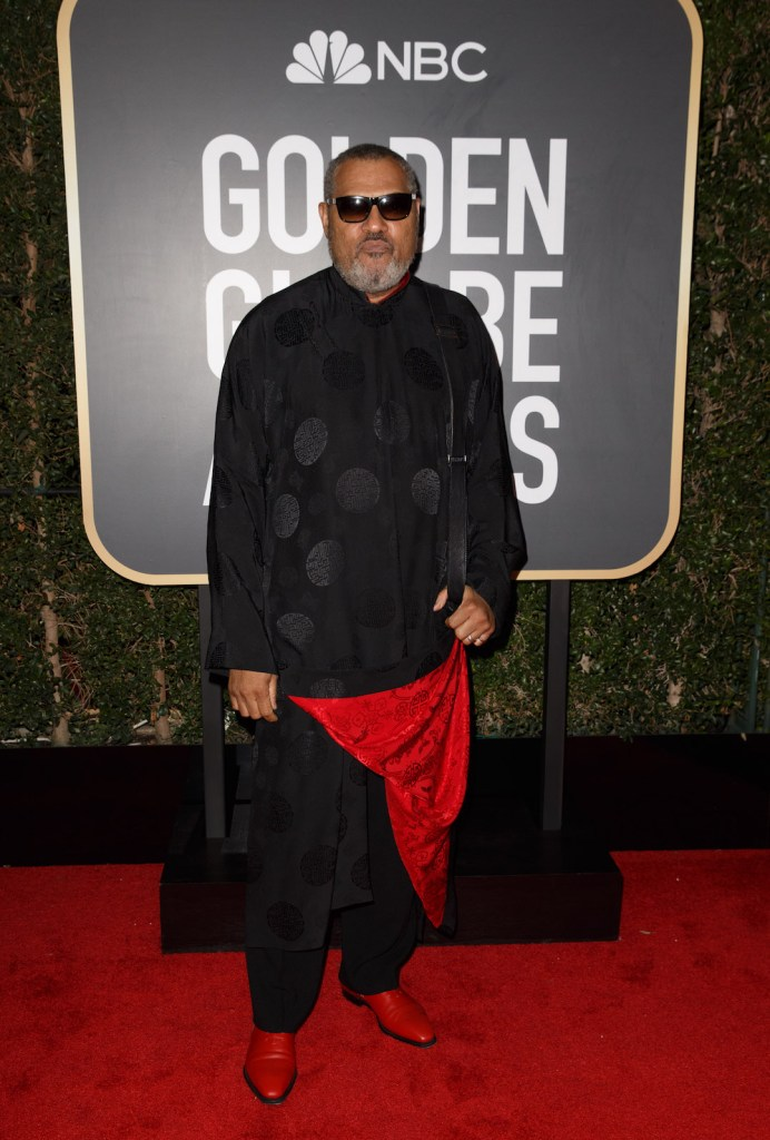 Laurence Fishburne attends the 75th Annual Golden Globes Awards 4chion lifestyle