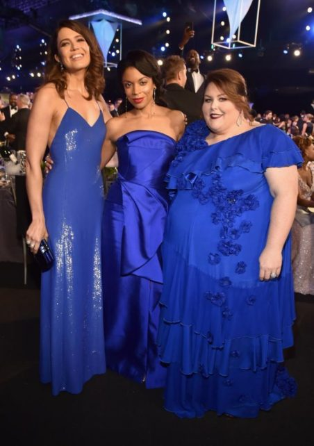 Mandy Moore, Susan Kelechi Watson and Chrissy Metz SAG Awards 4Chion Lifestyle
