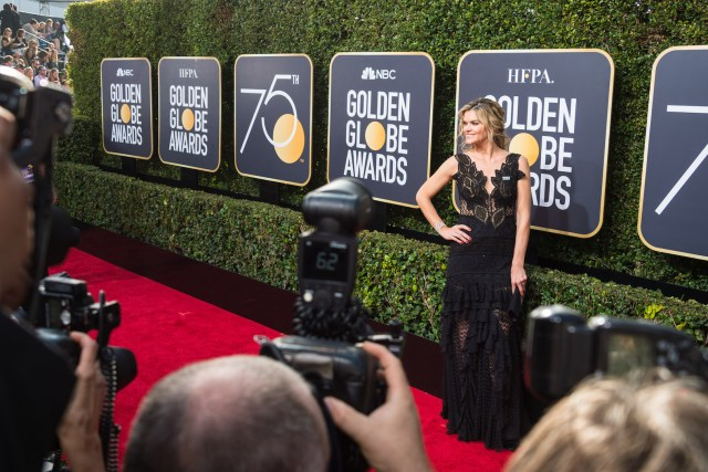 Missi Pyle arrives at the 75th Annual Golden Globe Awards 4chion lifestyle