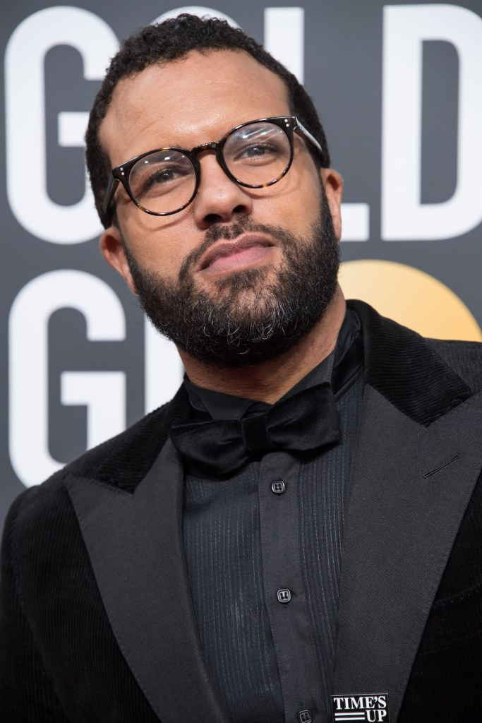 O.T. Fagbenle arrives at the 75th Annual Golden Globe Awards 4chion lifestyle