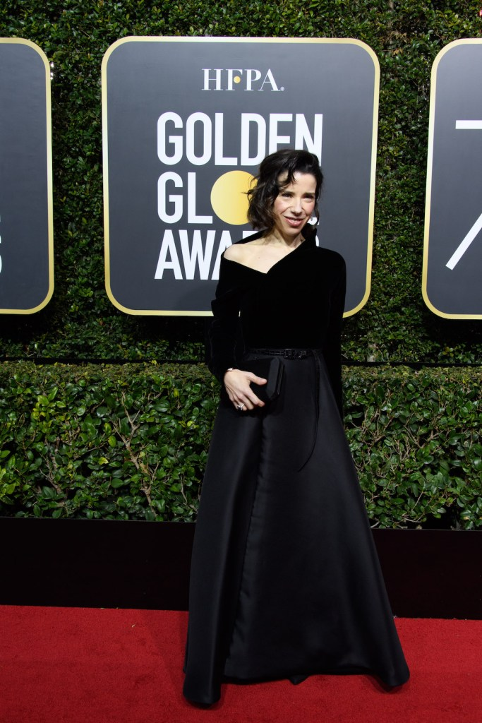 Sally Hawkins arrives at the 75th Annual Golden Globe Awards 4chion lifestyle