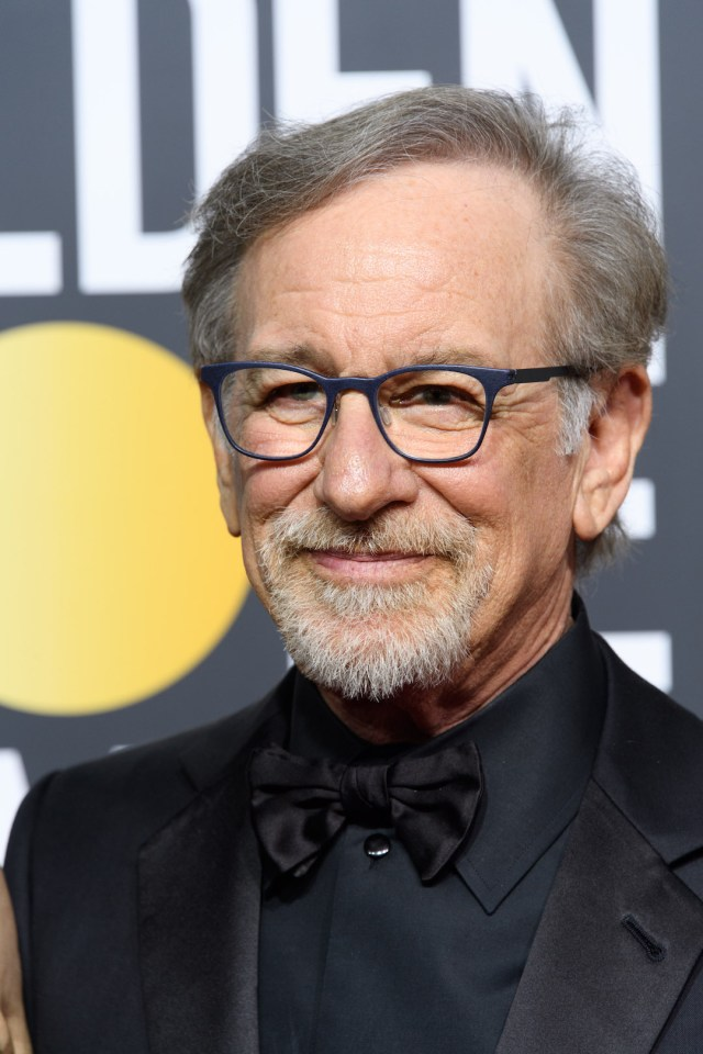 Steven Spielberg arrives at the 75th Annual Golden Globe Awards 4chion lifestyle
