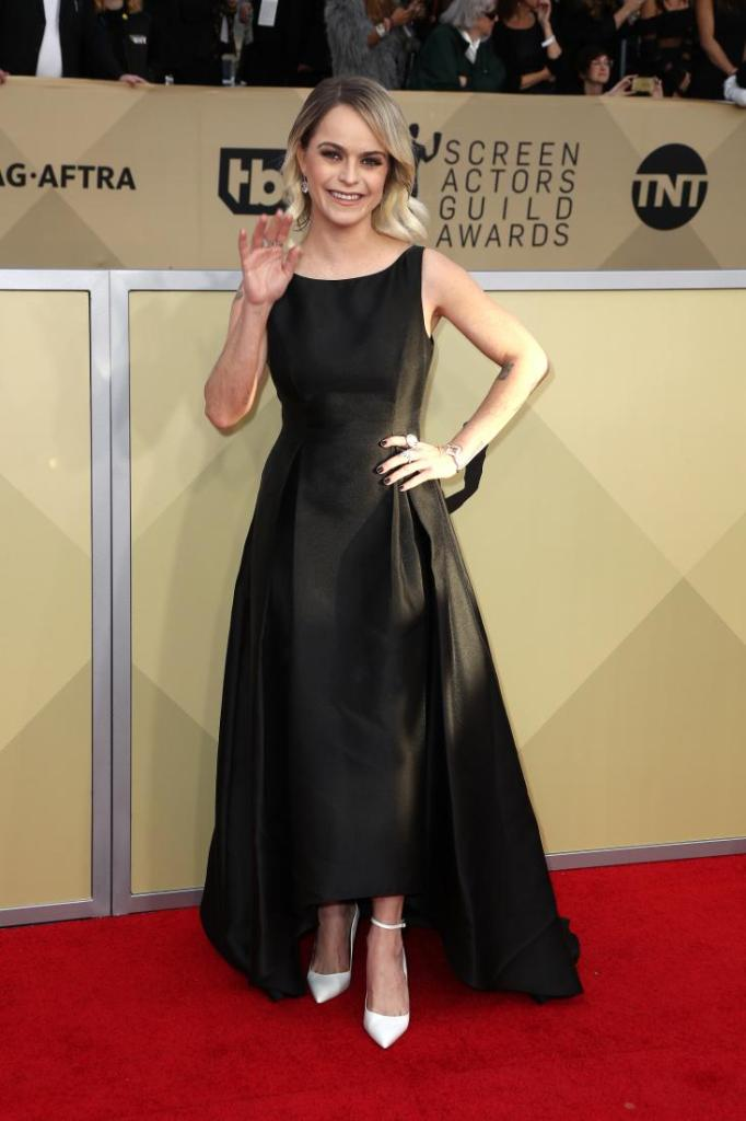 Taryn Manning red carpet SAG Awards 4Chion Lifestyle