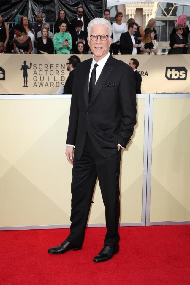 Ted Danson red carpet SAG Awards 4Chion Lifestyle