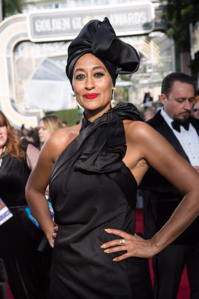 Actor Tracee Ellis Ross attends the 75th Annual Golden Globes Awards 4chion lifestyle
