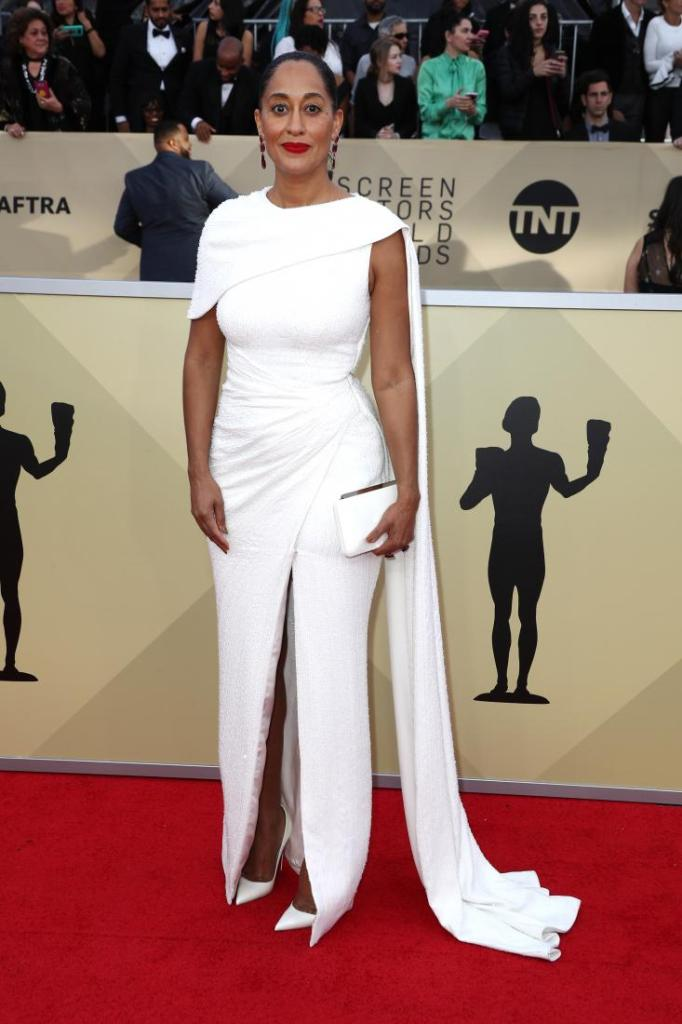 Tracee Ellis Ross red carpet SAG Awards 4Chion Lifestyle