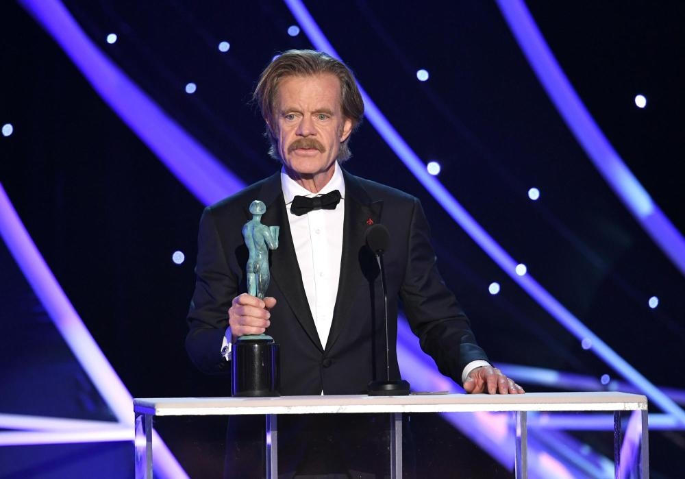 William H. Macy recipient Shameless SAG Awards 4Chion Lifestyle a