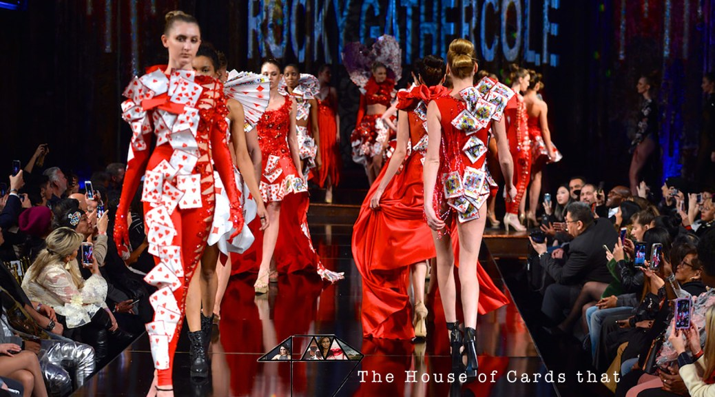 Rocky Gathercole House of Cards Art Hearts Fashion Week 4Chion Lifestyle NYFW