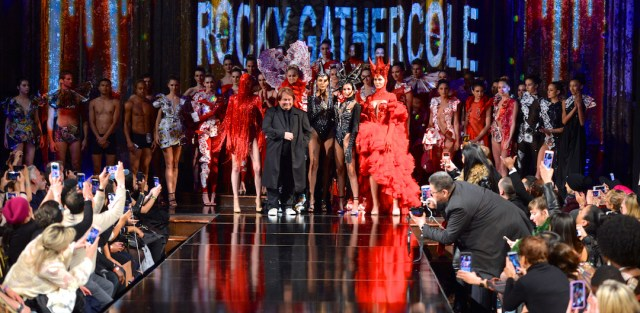 Rocky Gathercole House of Cards Art Hearts Fashion Week 4Chion Lifestyle t