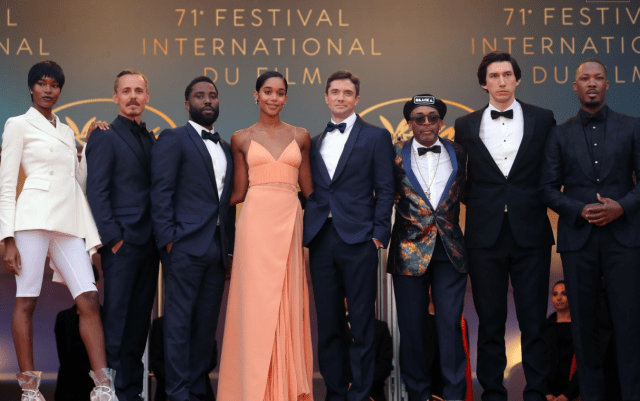 BlacKkKlansman Spike Lee Cannes Red Carpet 4Chion Style b