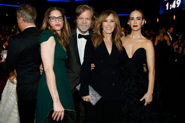 Amanda Peet, William H. Macy, Felicity Huffman, Sarah Paulson Emmy 4chion lifestyle