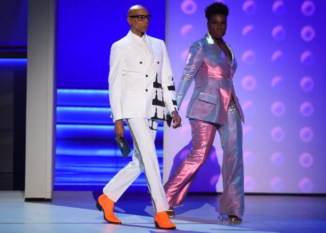 RuPaul Charles, Leslie Jones Emmys 4Chion Lifestyle