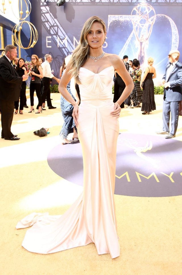 Heidi Klum Emmys 4Chion LIfestyle